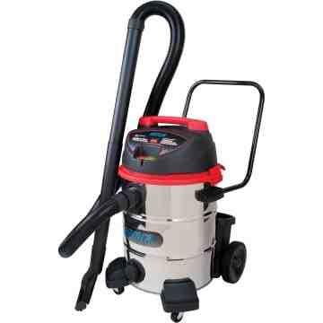 Industrial Vacuum Type: Wet-Dry Material: Stainless Steel Tank Capacity: 16 US Gal - 1