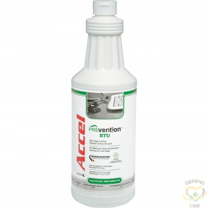 Accel® PREVention™ TB Ready To Use Disinfectant Bottle, 1L - 1