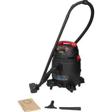 Industrial Vacuum Type: Wet-Dry Material: Peak HP: 6 Motor Stage: 1-Stage Air Flow: 95 CFM Tank - 1
