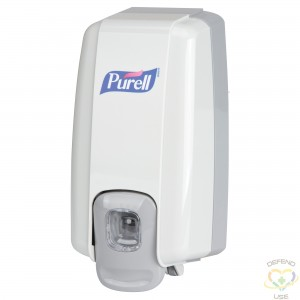 PURELL Purell® NXT® Dispensers Style: Push Capacity: 1000 ml Colour: Dove grey - 1