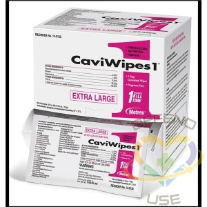 CaviWipes™ Medical Surfaces Disinfecting Wipes 50 Wipes/Box - 1
