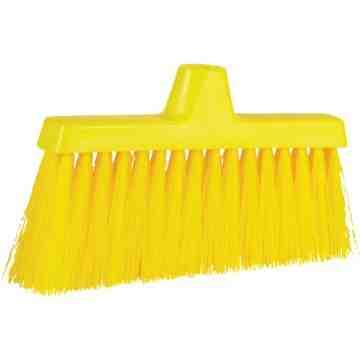 "ColorCore Angle Head Broom Each Polypropylene 10"""
