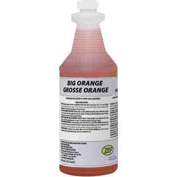 Big Orange Industrial Degreaser & Graffiti Remover Bottle