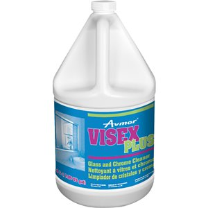 Visex Plus Glass and Chrome Cleaner 4L