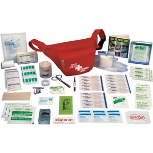 Hikers' First Aid Kits