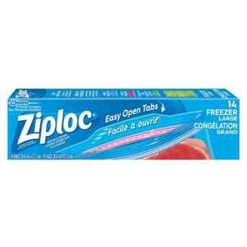 Ziploc Brand Bags - Freezer Large - 12/14ct