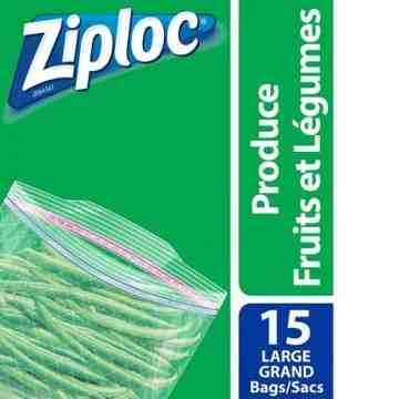 Ziploc Brand Bags - Fresh Produce Large - 12/15ct