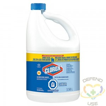 Bleach - Clorox Ultra Commercial Solutions 7.4% - 3x3.5L - 2