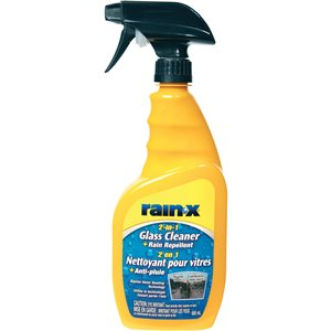 RAIN-X  2-in-1 Glass Cleaner with Rain Repellent Format: 680 ml Container Type: Trigger Bottle