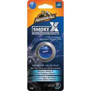 ARMOR ALL  SmokeX™ Vent Clip Oil Air Freshener Type: Vent Clip