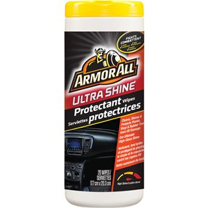 ARMOR ALL  Ultra Shine Protectant Wipes No. of Wipes: 20