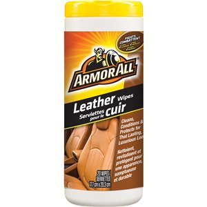 ARMOR ALL  Leather Cleaning Wipes No. of Wipes: 30
