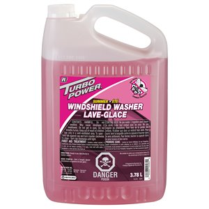 RECOCHEM  Turbo Power® Summer Bug Wash Windshield Washer Fluid Format: 3.78 L Container Type: Jug, Case of 4