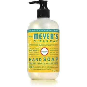 Mrs. Meyer's Clean Day Hand Soap - Honeysuckle, Case: 370ml x 6 - 4