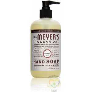 Mrs. Meyer's Clean Day Hand Soap - Lavender, Case: 370ml x 6 - 2
