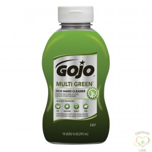 GOJO  Multi Green® Eco Hand Cleaner, Size: 296 ml Container. Sold/Priced Per: Bottle - 1