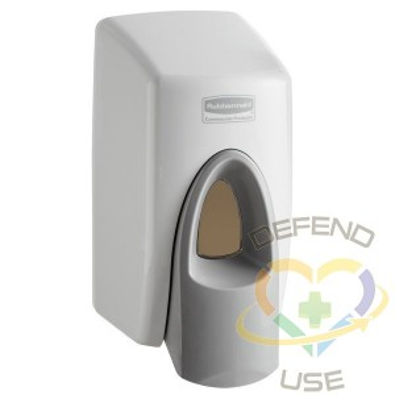 Rubbermaid Wall-Mount Skin Care, Soap/Sanitizer Dispenser 400ml White - 2
