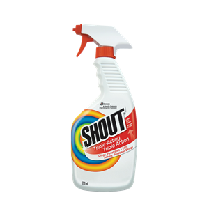 Shout - Triple-Acting Laundry Stain Remover - 8/650ml
