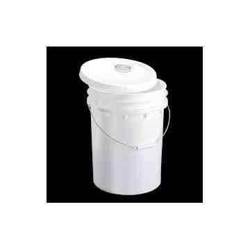 Pail - w/Lid & Flex Spout - 5G - White, 120 Units / Price Per EA