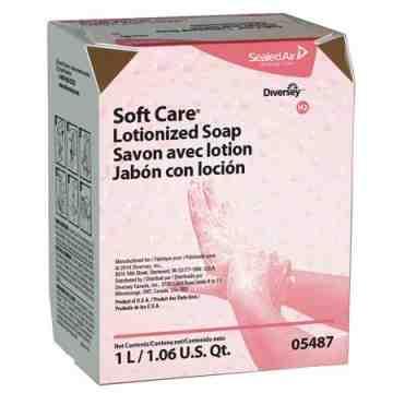 Soft Care - Lotionized Soap BIB - 12/1000ml