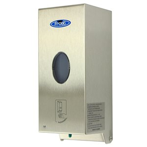 Soap Dispenser -Wall Mount No Touch 1L - Stainless Steel
