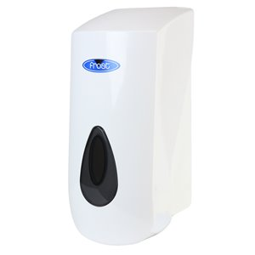 Soap Dispenser - Wall Mount Manual Foam 1L - White/Black