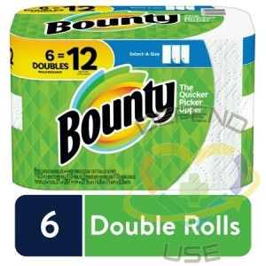 Bounty-Select-A-Size Paper Towel 110ct-6 Double Roll/cs - 1