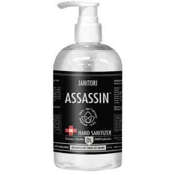 54 Assassin Hand Sanitizer, Gel, 70%, 500 mL