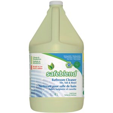 SAFEBLEND Multi-Purpose Ready-to-Use Bathroom Cleaner , 4L Jug