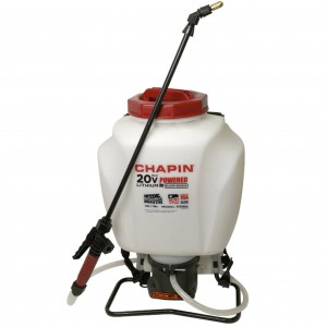 Chapin 63985 4-Gallon 20v wide Mouth Backpack Sprayer, Powered by Black & Decker - 4