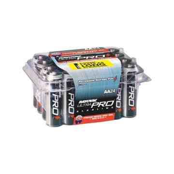 "Battery - Rayovac Ultra-Pro Industrial ""AA"" - Contractor Pack- 24/pk/12pk/cs - 1"
