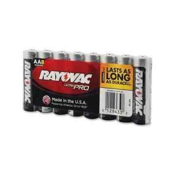 "Battery - Rayovac Ultra-Pro Industrial ""AA""- 8/pk/12pk/cs - 1"