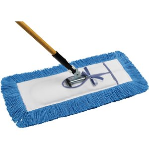 """Static-H Dust Mop with Handle 36""""   Tie-On, Nylon - 1"""