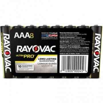 "Battery - Rayovac Ultra-Pro Industrial ""AAA"" - 8/pk/12pk/cs - 1"