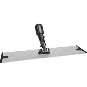"""Microfiber Hook & Loop Dust Mop Frame Aluminum 18""""   - 1"""