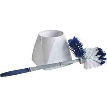 Toilet Brush with Lip & Holder Each - 1