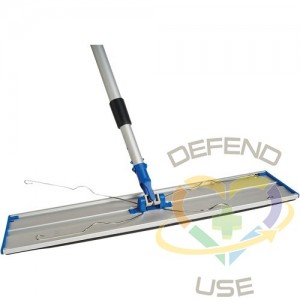 """Static Attack Dust Mop Frame & Telescopic Handle Each 71"""" - 1"""