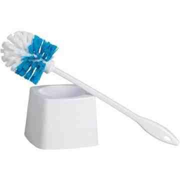 Bowl Brush with Caddy Polypropylene   - 1