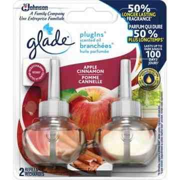 PlugIns® Scented Oil Refills Pack of 2,Apple Cinnamon   - 1