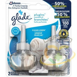 PlugIns® Scented Oil Refills Pack of 2, Clean Linen®   - 1