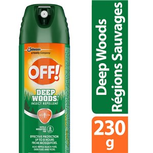 Insect OFF! Deep Woods - 3 Insect Repellent - 12/230g