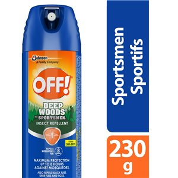 Insect OFF! Deep Woods - Sportsmen 1 Repellent- 12/230g
