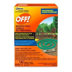 Insect OFF! Area - Mosquito Coils - 12/1