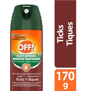 Insect OFF! Deep Woods Tick - 12/170g