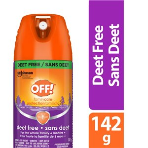 Insect OFF! Familycare Repellent 8- Deet Free - 12/142g