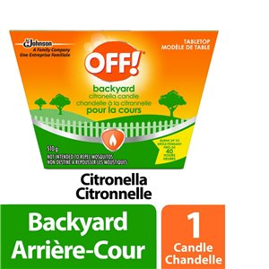 Insect OFF! Area - Citronella Candle - Table Top - 6/1