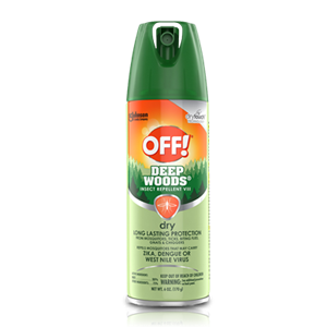 Insect OFF! Deep Woods - Insect Repellent Dry - 12/71g