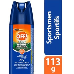 Insect OFF! Deep Woods -Sportsmen Repellent Dry-12/113g