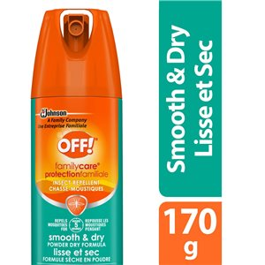 Insect OFF! Familycare-Repellent-Smooth/Dry - 12/71g