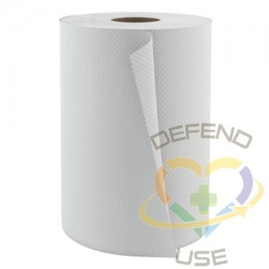 Roll Hand Towels, 1 Ply, 12 Rolls/Case